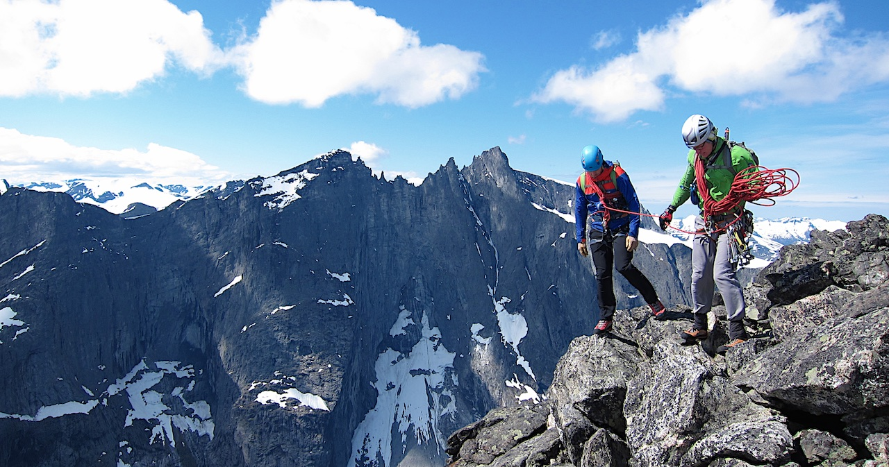 Mountaineering in Norway
